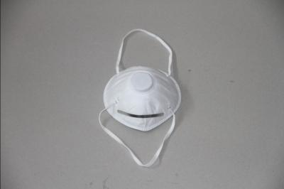 White Cup Shape Mask (With Valve)