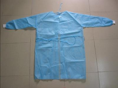Disposable Non-woven Isolation Gown(Knit cuff)