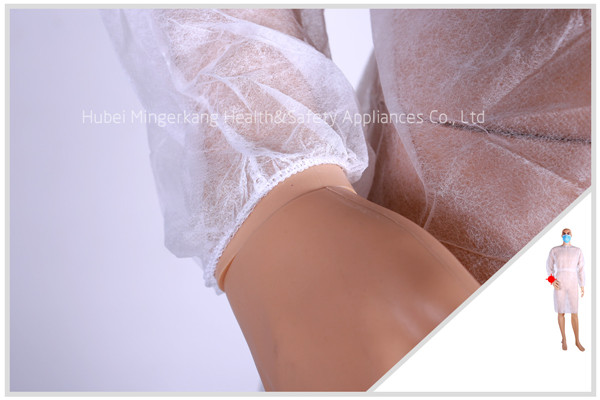 Nonwoven Velcro Isolation Gown